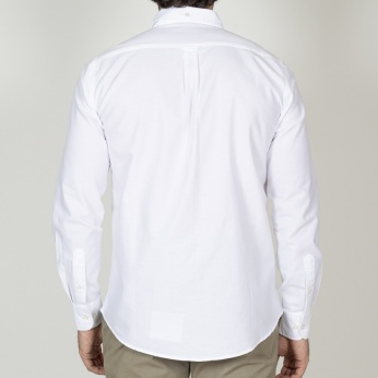 Camisa Isidro Oxford Blanco